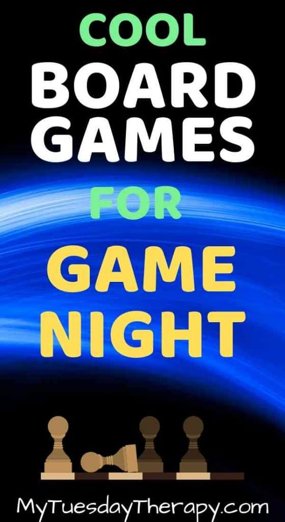 Cool Board Games for Teen Game Night