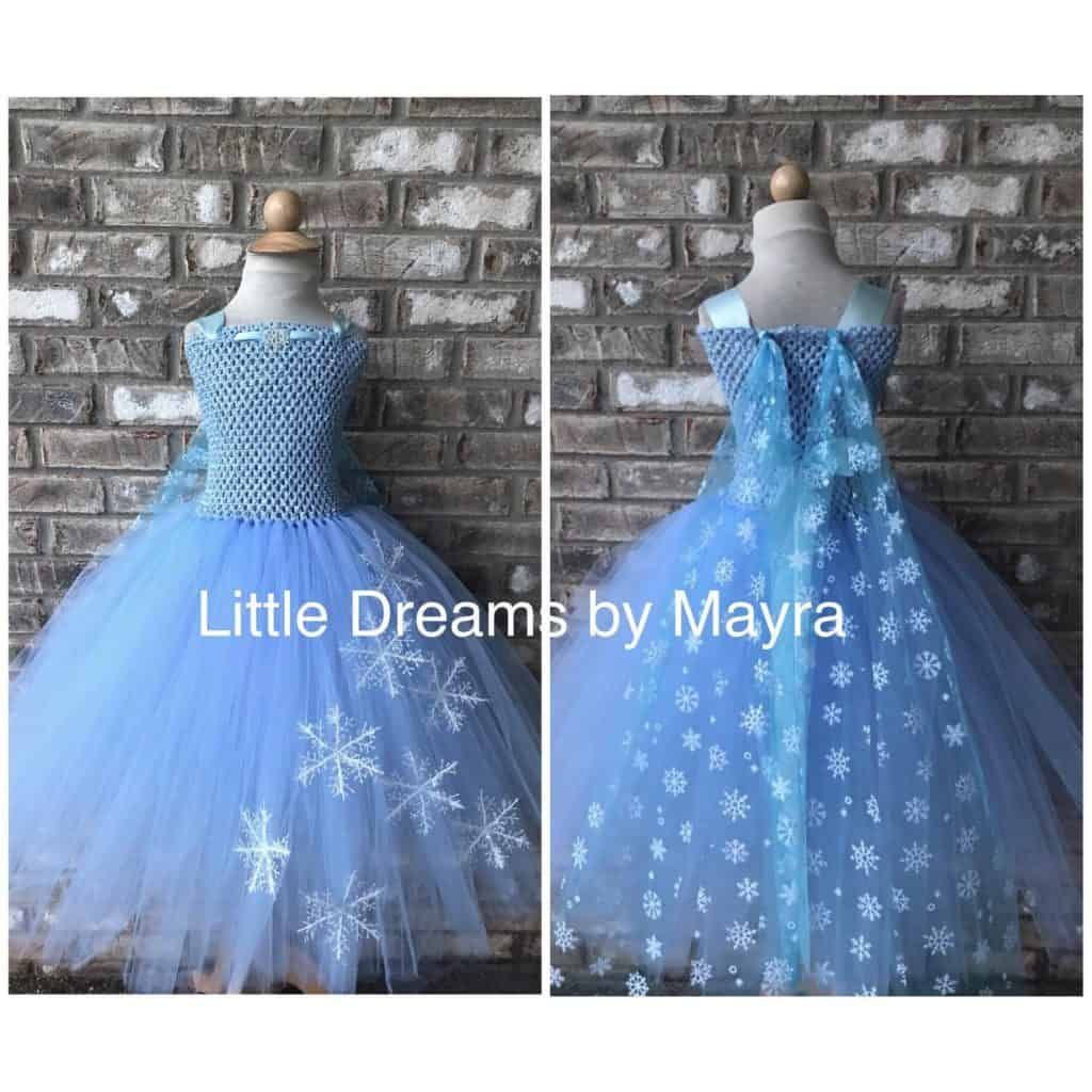 Elsa Costume for Girls (little dreams by mayra)