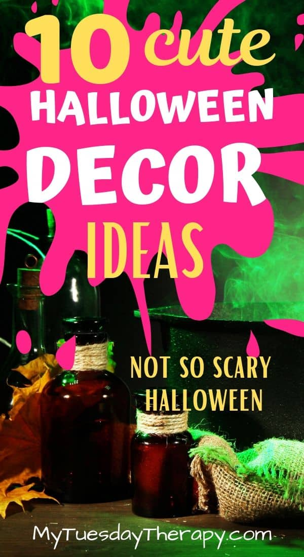 Cute Halloween Decorations Fun And Not So Scary