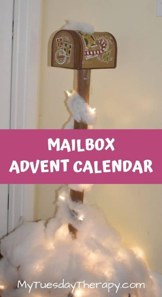 Mailbox Advent Calendar