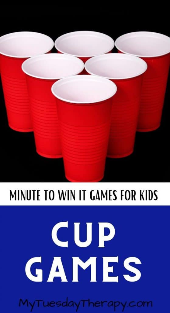 Minute To Win It Games With Cups
