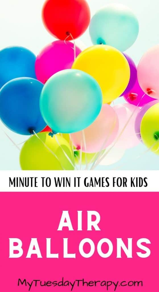 Minute to Win It Games for Kids Party