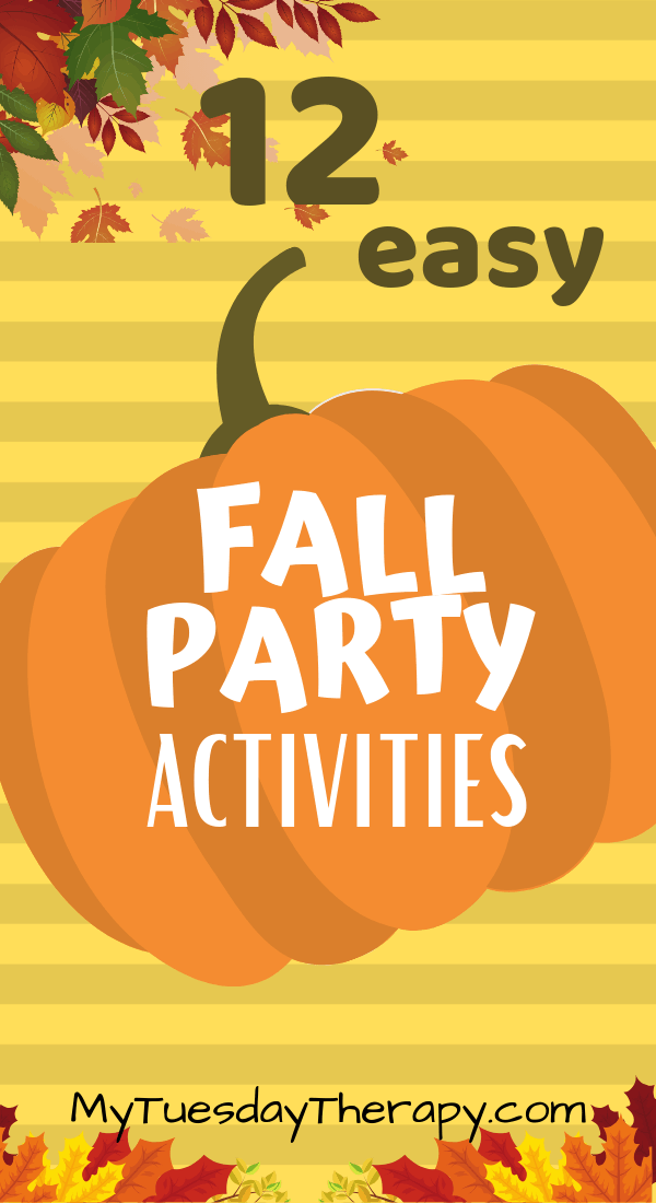 Easy Fall Party Activities for Kids