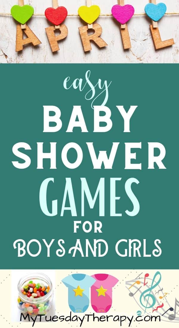 Easy Baby Shower Games for Boy or Girl Baby Shower