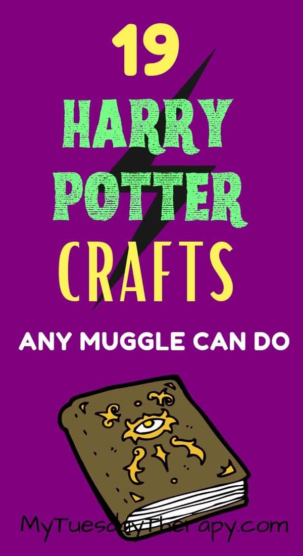 Harry Potter Crafts Any Muggle Can Do