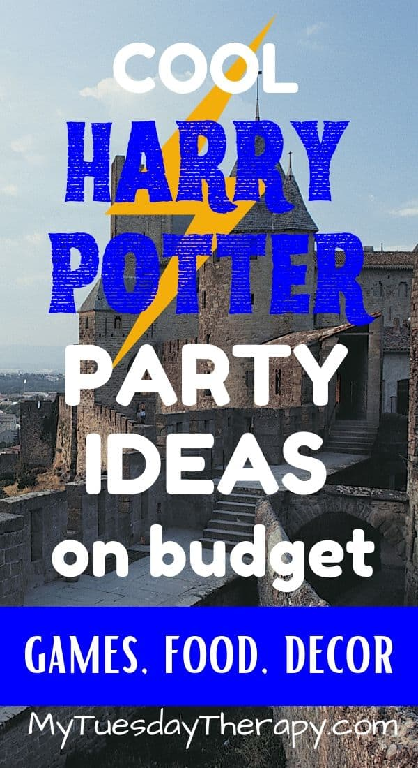 Harry Potter Party On Budget. Ideas for games, food and decorations.