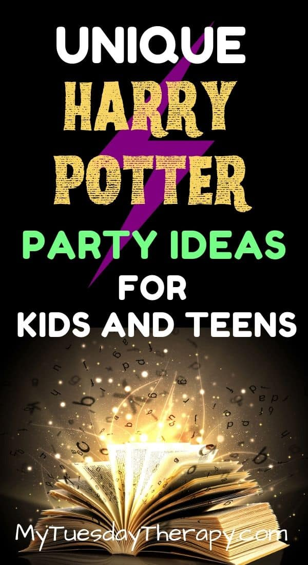 Unique Harry Potter Party Ideas for Teens and Younger Kids.