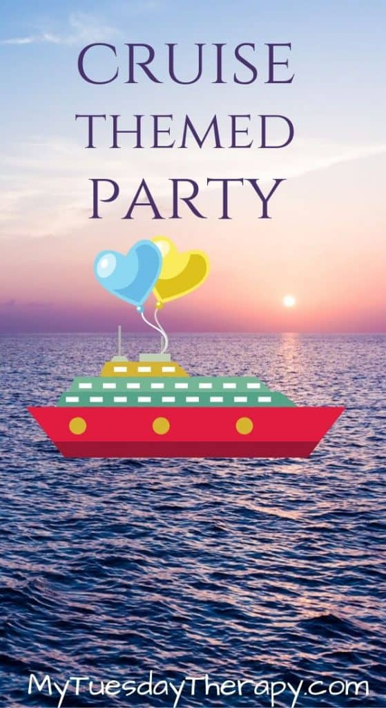 Cruise Themed Birthday Party For Girls
