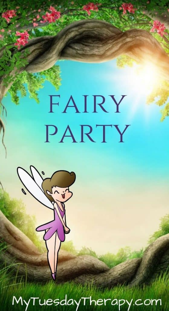 Birthday Party Themes for Girls: Fairy Party