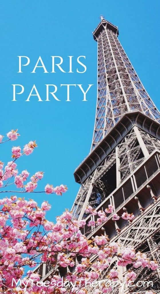 Birthday Party Themes for Girls: Paris