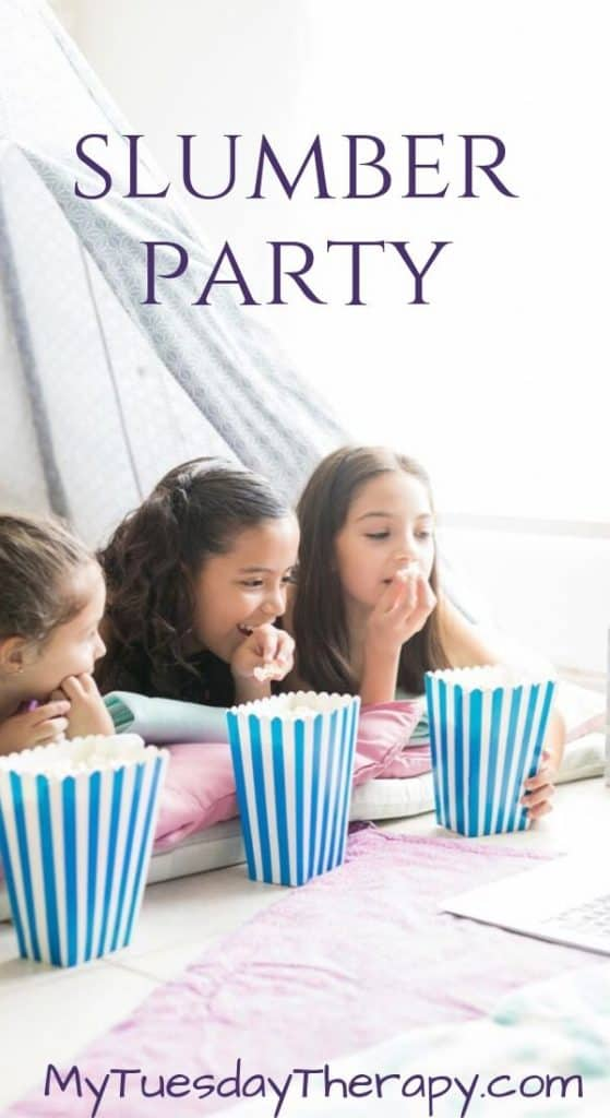 Birthday Party Theme for Girls: Slumber Party
