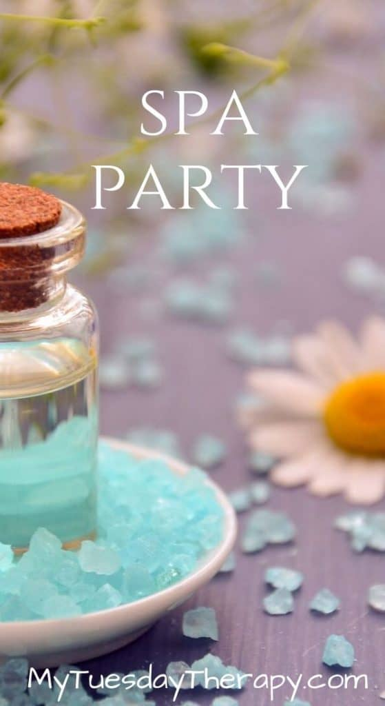 Birthday Party Theme for Girls: Spa Party!