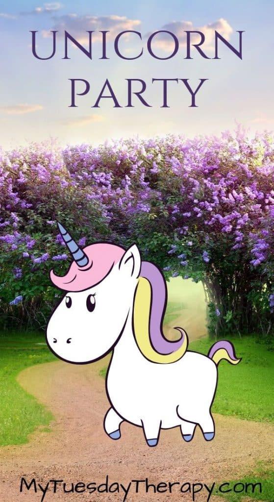 Unicorn Party Ideas. A fun birthday party theme for a girl.