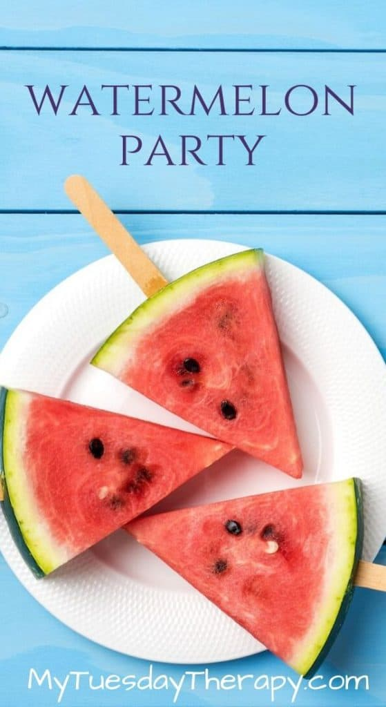 Birthday Party Themes for Girls: Watermelon Party