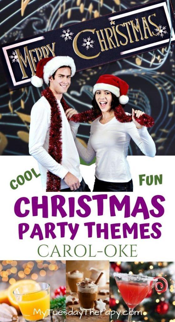 Christmas Party Themes: Carol-oke. Fun with Christmas Karaoke!