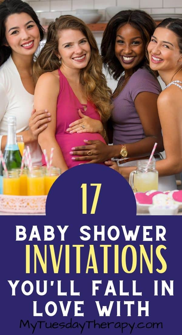 Adorable Baby Shower Invitations That You\'ll Love and Won\'t Break The Bank. Save money with these baby shower invitations. Inexpensive baby shower ideas. You\'ll find here invitations for boys and girls and also gender neutral baby shower invitations. Great aid in choosing a baby shower theme.