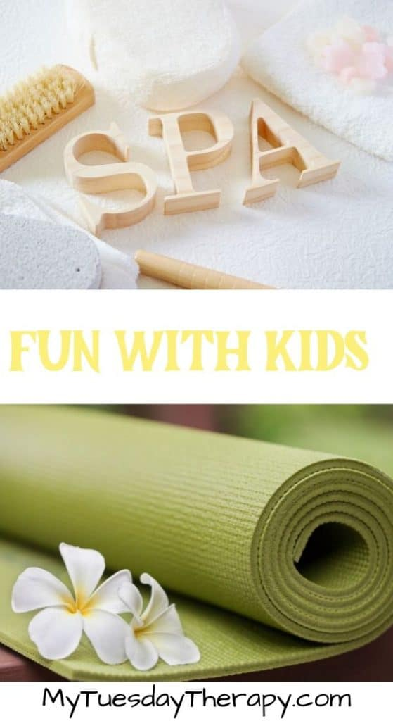 Fun Things To Do With Kids. Spa for Kids.
