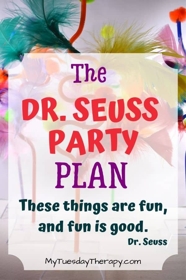 Dr. Seuss Party Ideas. Everything you need for hosting a Dr. Seuss birthday party.