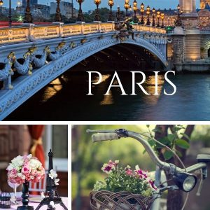 Paris Party Ideas. Cool Ideas for Paris Themed Party from Invitations to Party Favors.