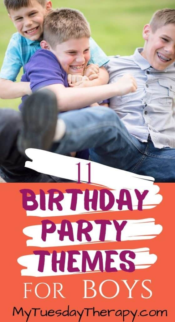 Birthday Party Themes for Boys. Fun birthday party ideas for boys. Parties to host at home.