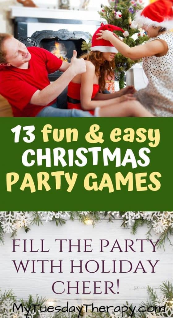Fun and Easy Christmas Party Games. Fill the party with holiday cheer.