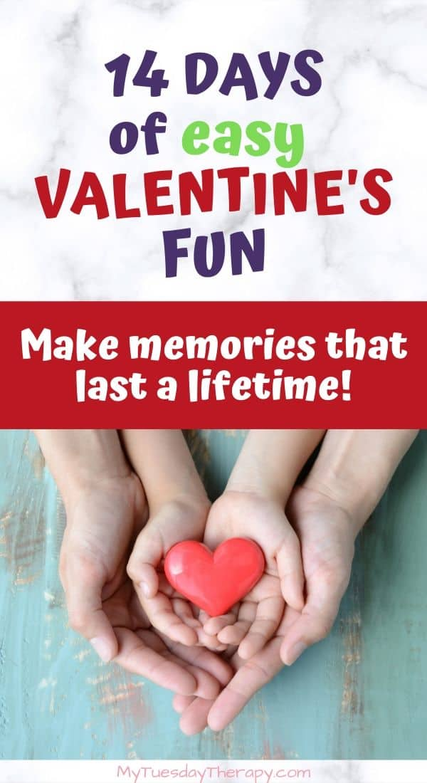 Easy Valentine\'s Activities for Kids. Free Valentine\'s Printables. Cool  ideas for Valentine\'s Party Games. Fun Valentines\'s Garland. Simple ideas to make your kids feel loved. Things to do with kids at home.