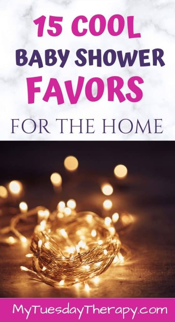 Fairy Lights. Baby Shower Favor Ideas for Home