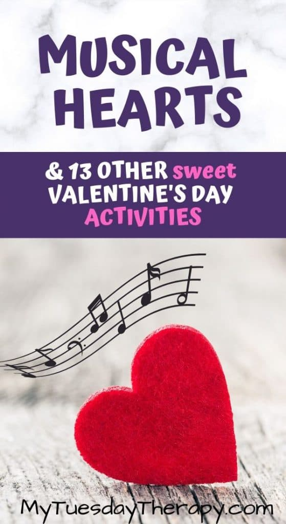 Musical Hearts - A Fun Valentine's Day Activity For Kids