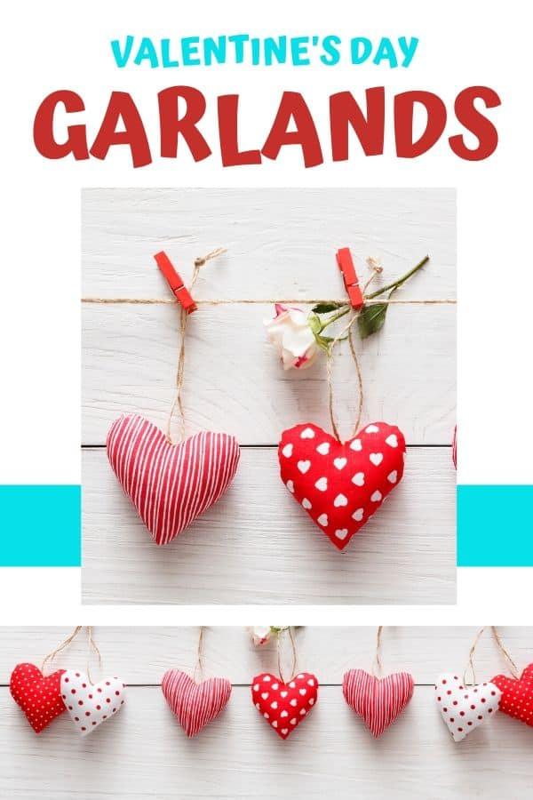 Fabric Heart Garland DIY