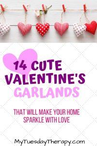 Cute Valentines Day Garlands. DIY or buy.