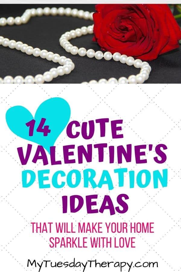 Valentines Decoration Ideas. Buy or DIY.