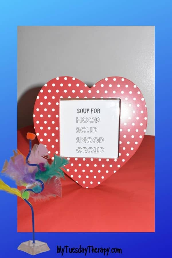 Soup for Hoop Soup Snoop Group. Easy Dr. Seuss party food.