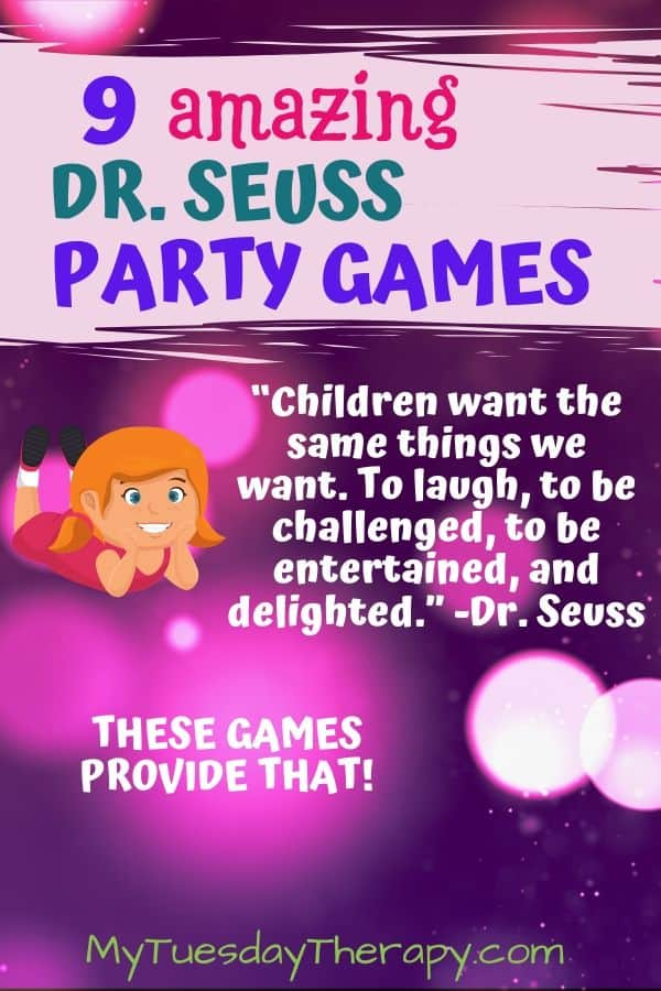 9 Amazing Dr. Seuss Party Games and Activities.