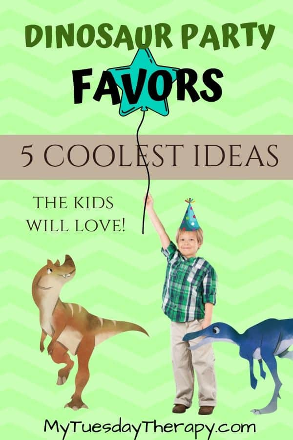Dinosaur Party Favors The Kids Will Love