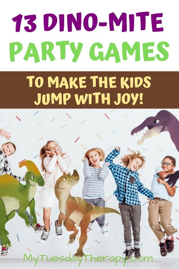 Dinosaur Party Games to make the kids jump with joy!