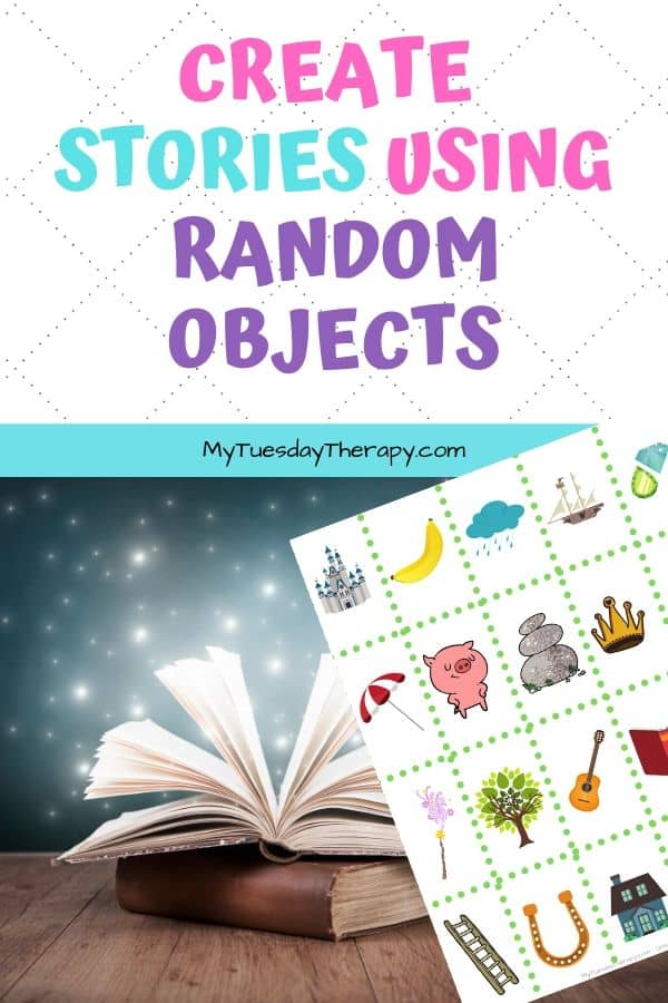 Fairy Tale Day Ideas: create stories using random objects.