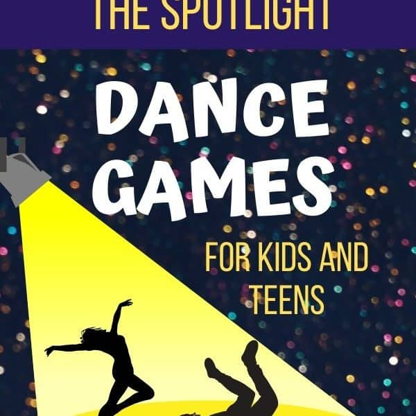 It's Your Turn To Be In The Spotlight! Dance Games for Kids And Teens.