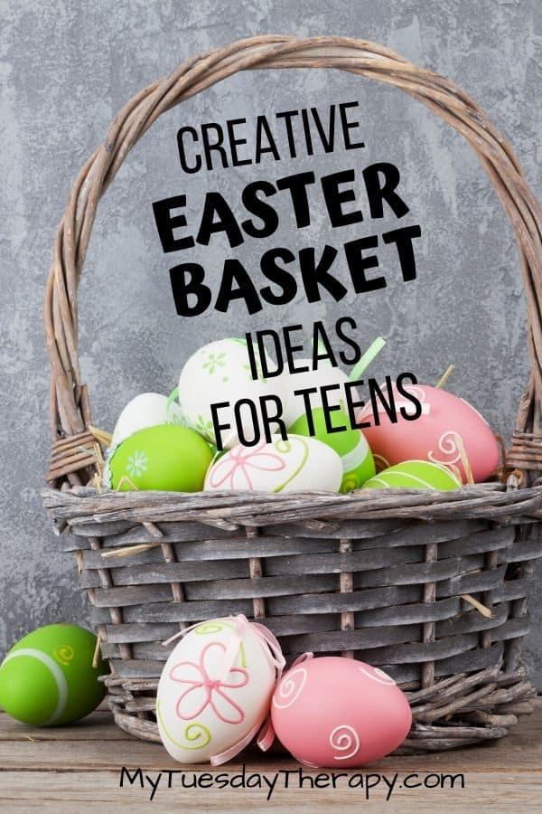 Creative Easter Basket Ideas for Teens.