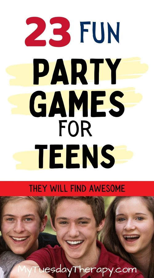 Party game ideas for teenagers.