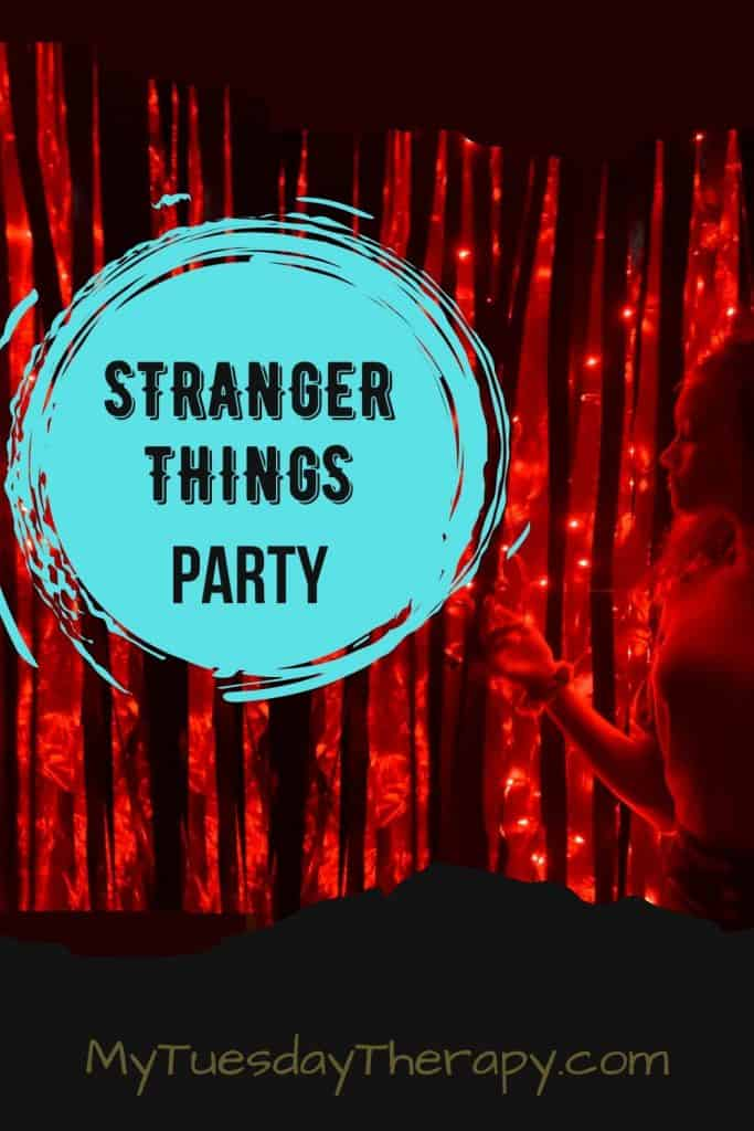 Stranger Things Party For Teens