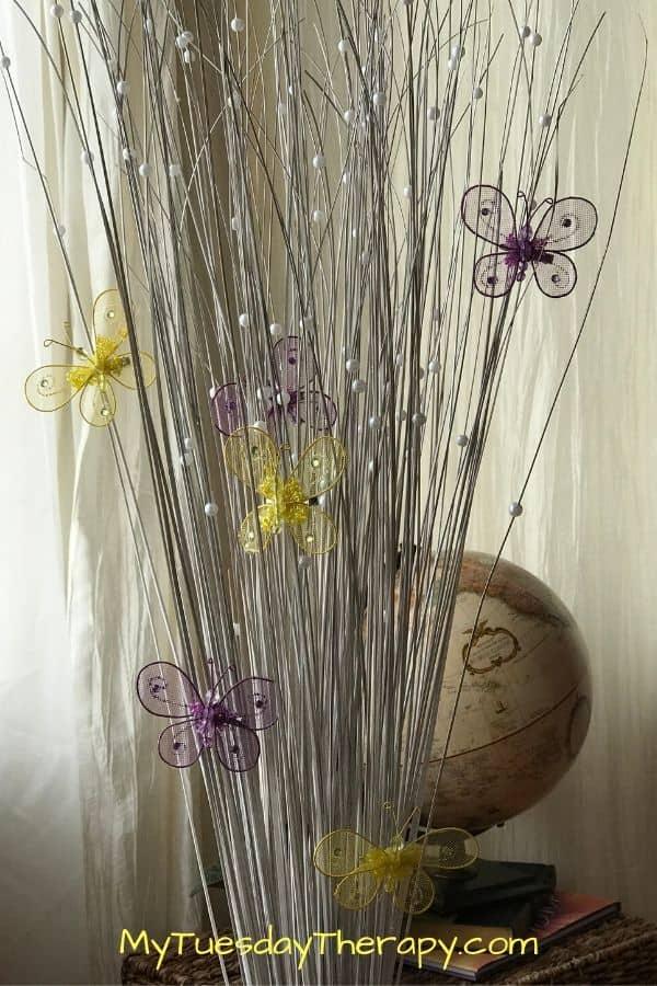 Butterfly DIY Spring Decor
