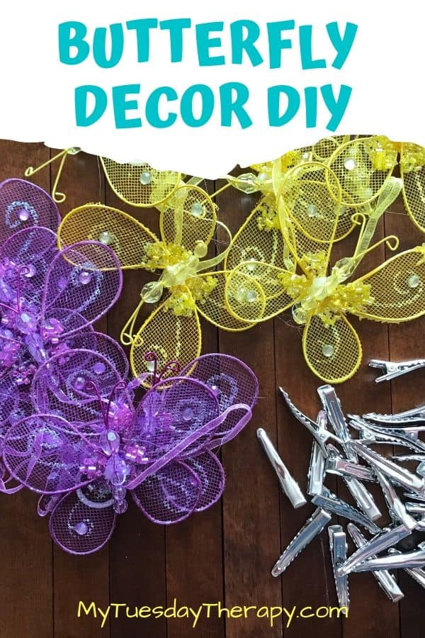 Butterfly Decor DIY