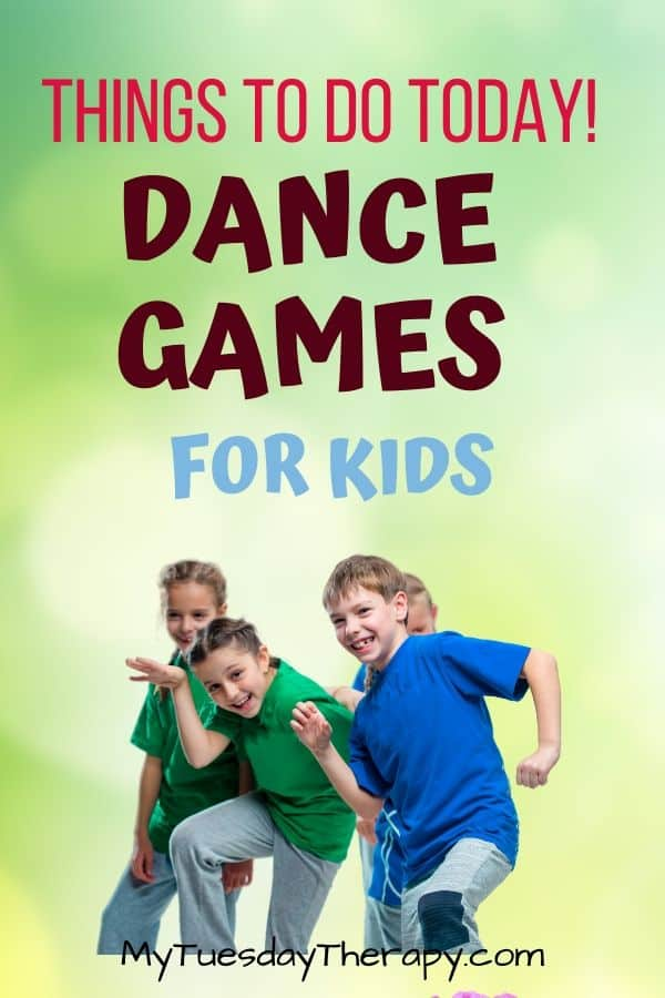Dance Games For Kids. Things to do with kids at home today.