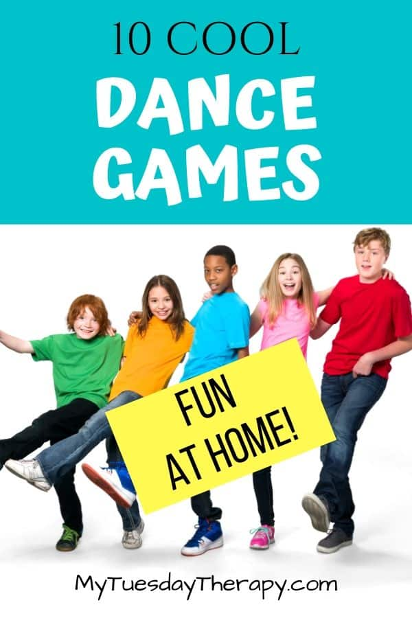 Cool Dance Games For Kids. Fun things to do at home on rainy day or any day.