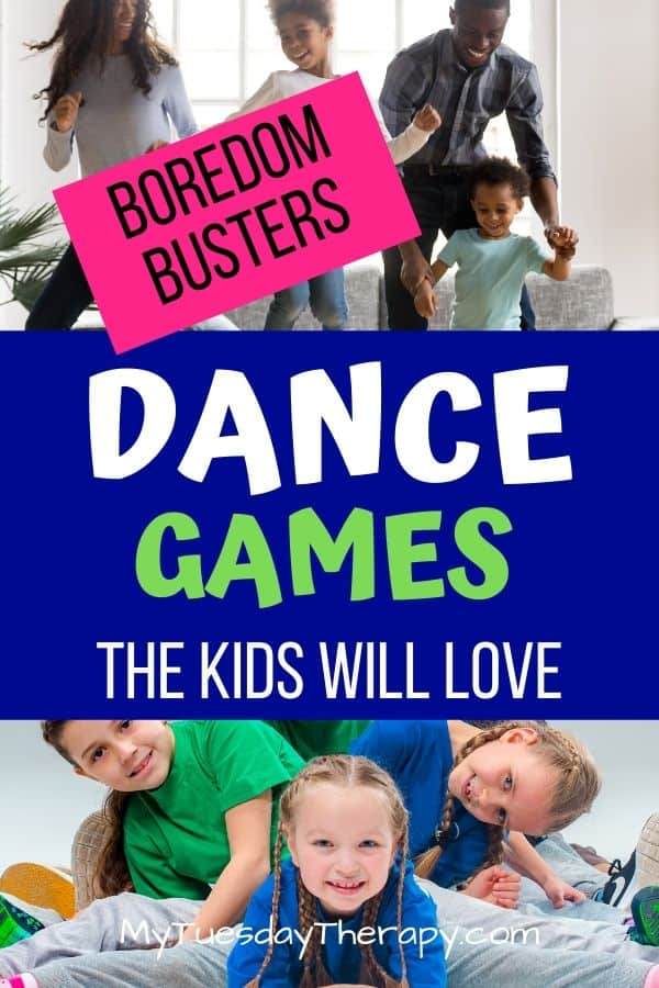 Boredom Busters: Dance Games the kids will love. Family fun!