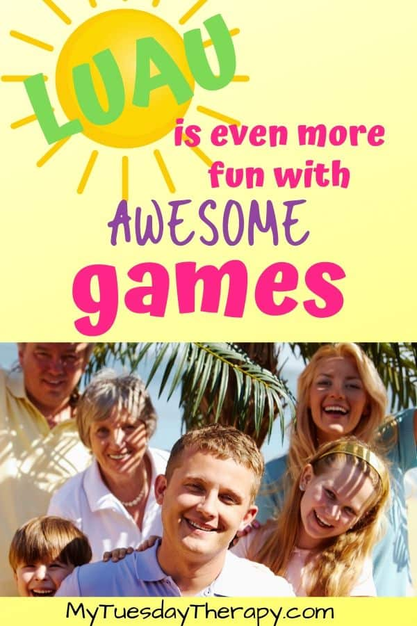 Fun games for a Hawaiian luau party. Games for teens, kids, adults.