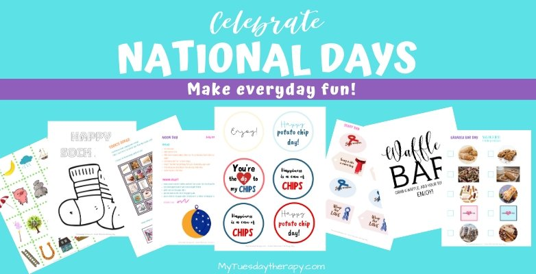Celebrate national days with these ideas.