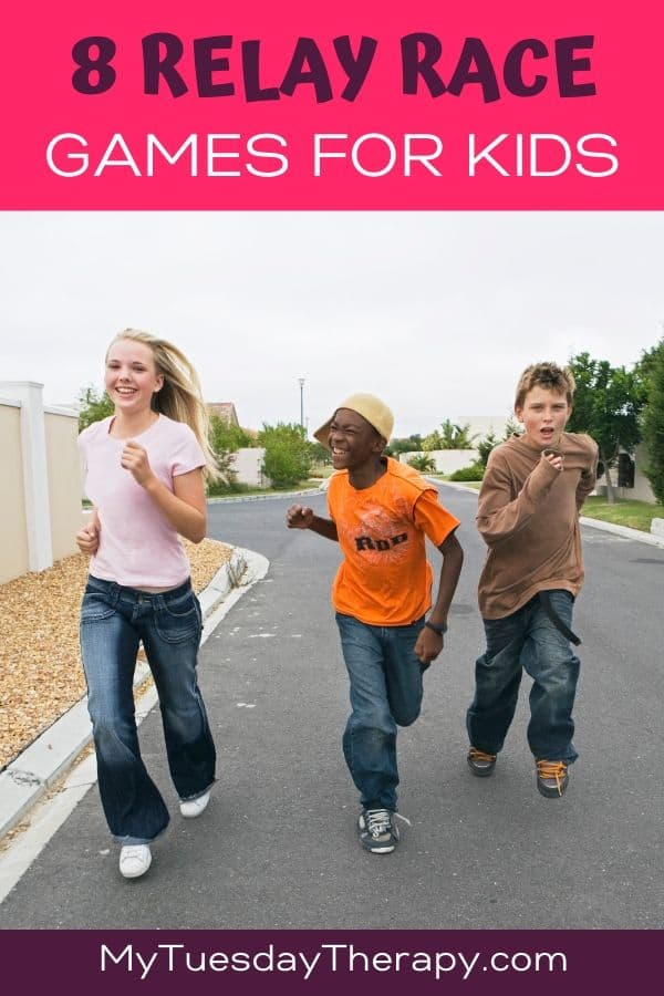 Relay Race Game Ideas For Kids.
