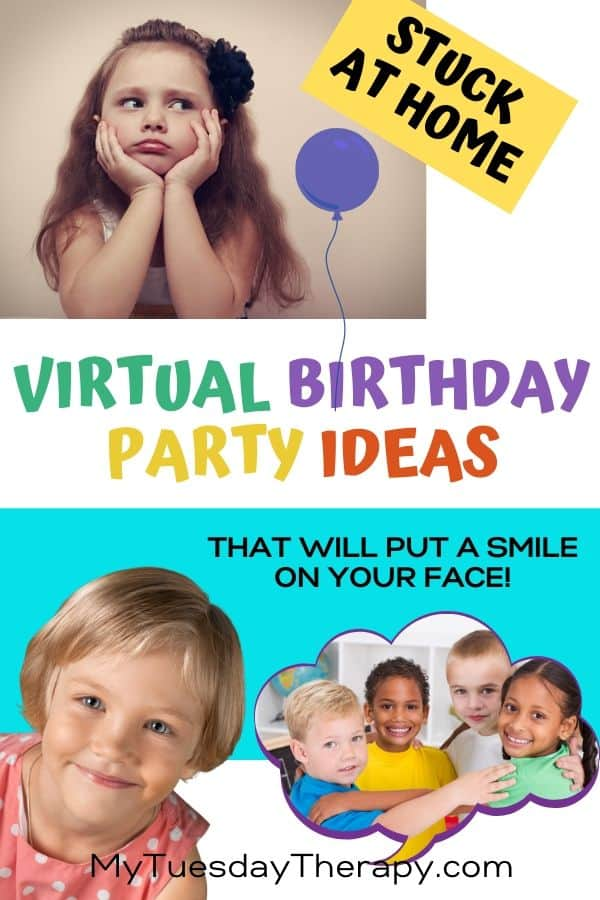 Virtual Birthday Party Ideas For Kids That Will Put A Smile On Your Face.