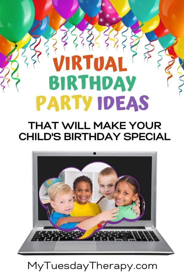 Virtual Birthday Party Ideas For Kids.